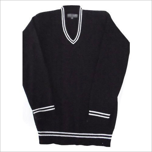 Kids V Neck School Sweater