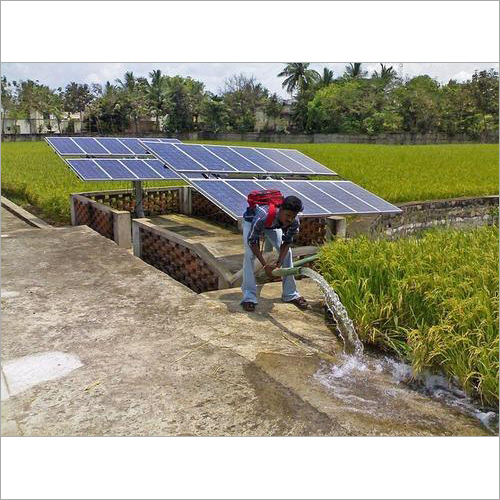 7.5 HP Solar Water Pump System