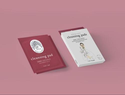 Somsajang Korea Deep Skincare and Makeup Removal Cotton Pad (dry skin type)