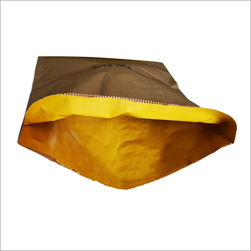 Multi Layer Paper Bags with Inner Coated Paper Lining