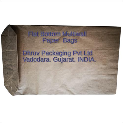 Flat Bottom Multiwall Paper Bags