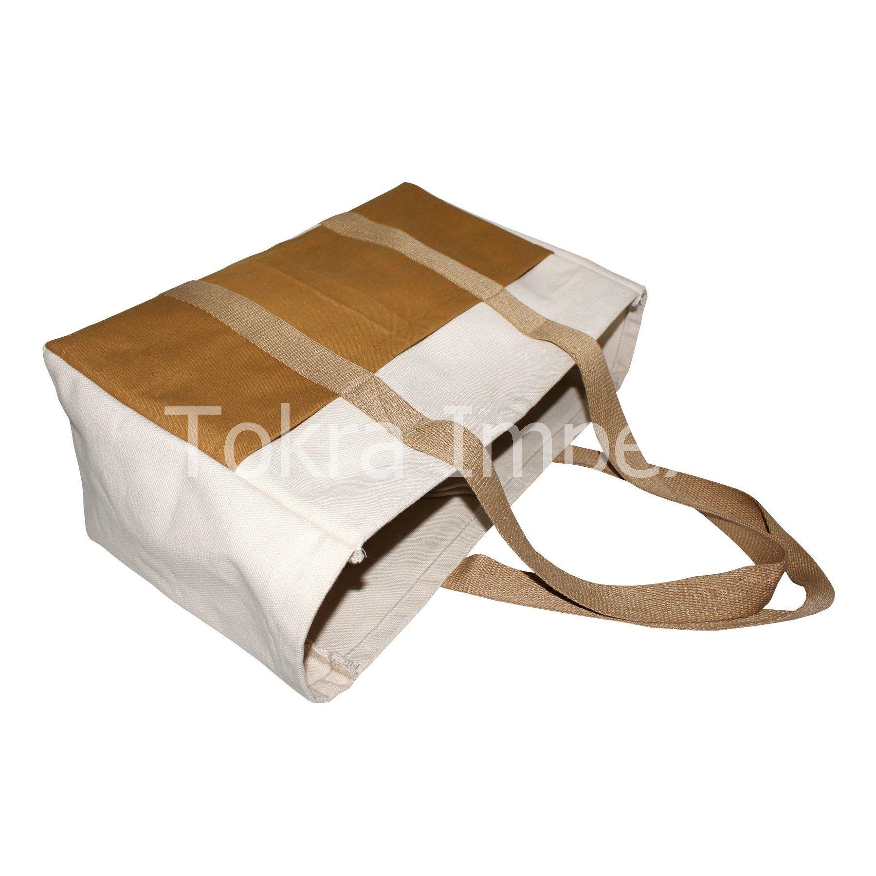 Heavy Duty Canvas Shopping Bags
