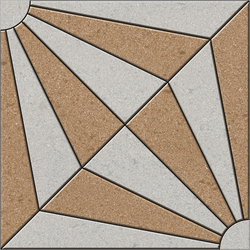 300X300 Designer Parking Tile