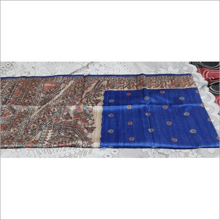 Madhubani Gicha Silk Saree