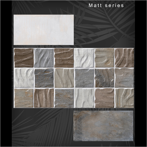 300x600 Matt Series Textured Wall Tile