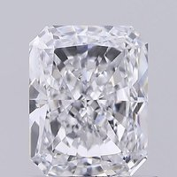 Radiant Cut 1.04ct Lab Grown Diamond CVD E VS2 IGI Crtified Stone