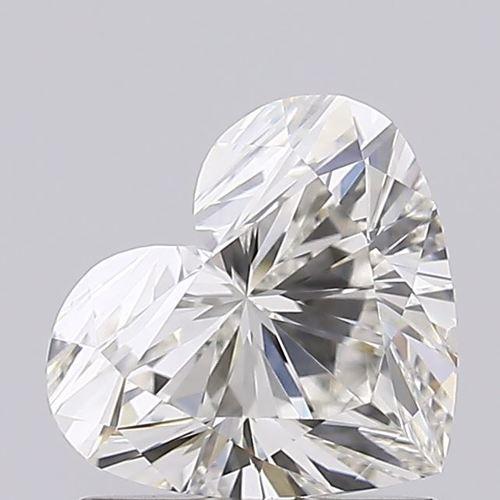 Heart Cut 1.02ct Lab Grown Diamond CVD H VS2 IGI Crtified Stone