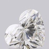 Heart Cut 1.02ct Lab Grown Diamond CVD H VS2 IGI Crtified Stone