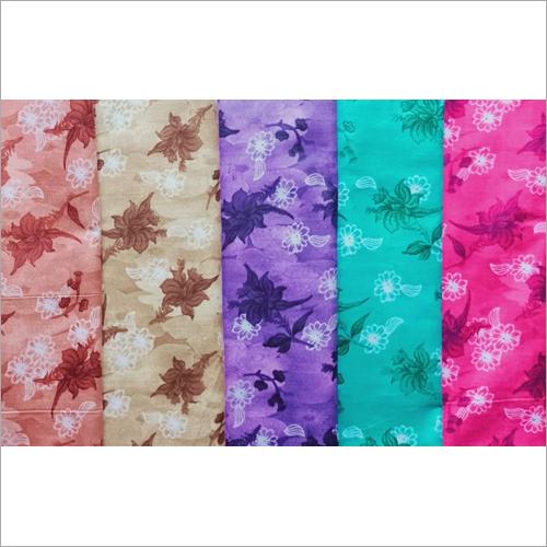 Ladies Floral Printed Nighty Fabric