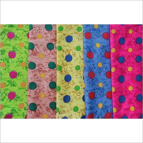 Printed Cotton Nighty Fabric