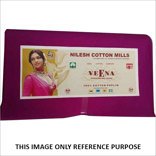 Veena Poplin Guaranteed Fast Fabric