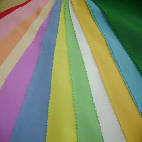 Dyed Cotton Poplin Fabric