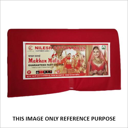 Makhan Malai Dyed Poplin Fabric