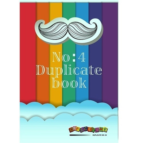 No. 4 Duplicate Book