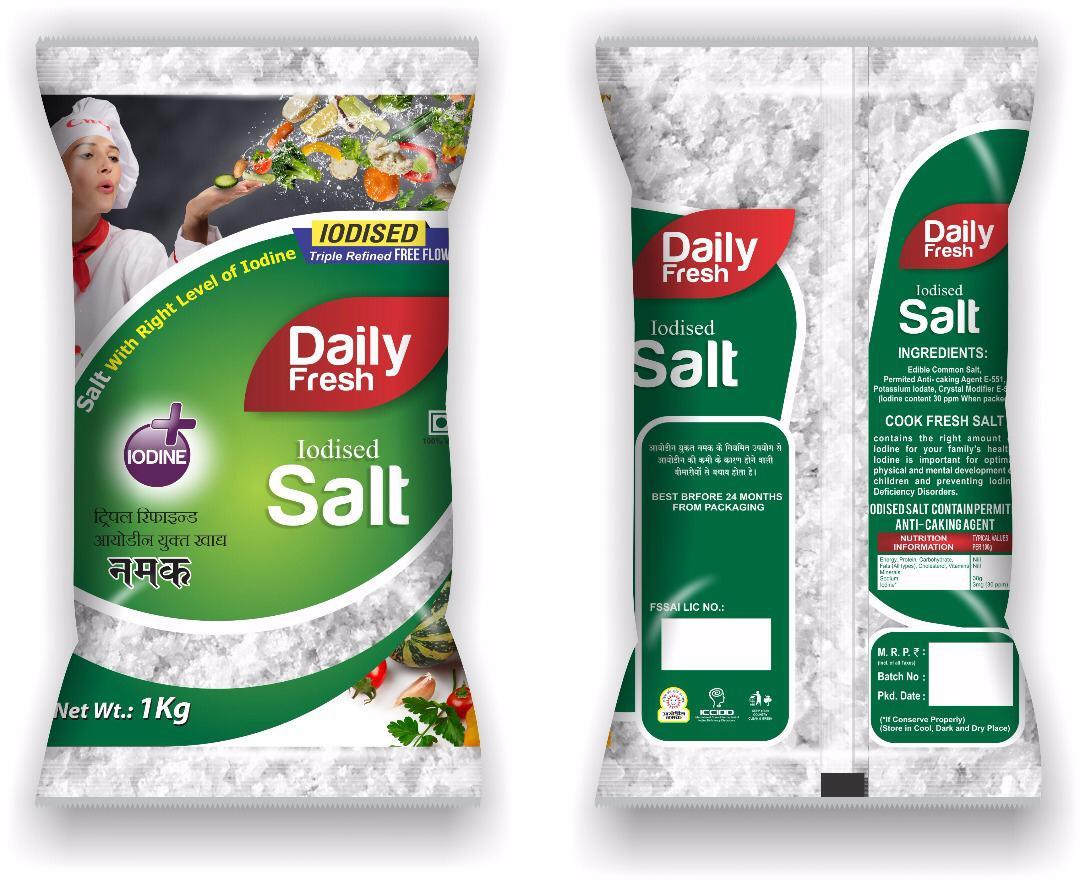 Iodized Free Flow Salt