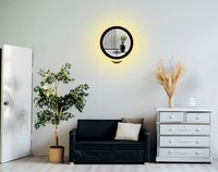 23W Wall led Lamp Strings and Flower Pot (Warm White + White)