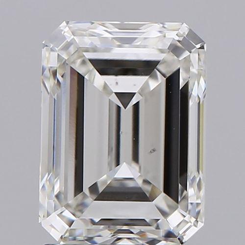Emerald Cut 2.01ct Lab Grown Diamond CVD G VS1 IGI Crtified Stone