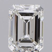 Emerald Cut 2.01ct Lab Grown Diamond CVD G VS1 IGI Crtified Stone