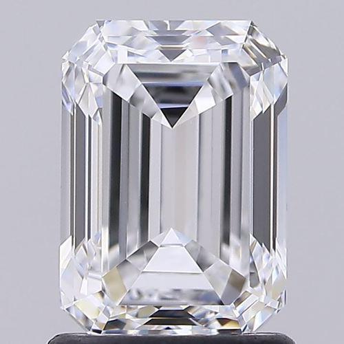 Emerald Cut 1.54ct Lab Grown Diamond CVD D VVS1 IGI Crtified Stone