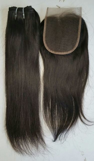 Raw Virgin Unprocessed Straight Lace Closure 4x4