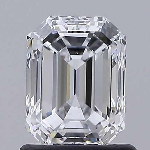 Emerald Cut 1.10ct Lab Grown Diamond CVD E VS1 IGI Crtified Stone