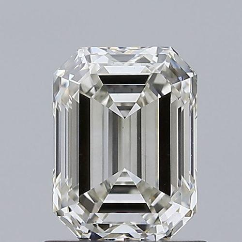 Emerald Cut 1.04ct Lab Grown Diamond CVD H VS2 IGI Crtified Stone