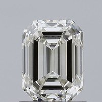 Emerald Cut 1.04ct Lab Grown Diamond CVD H VS2 IGI Crtified Stone