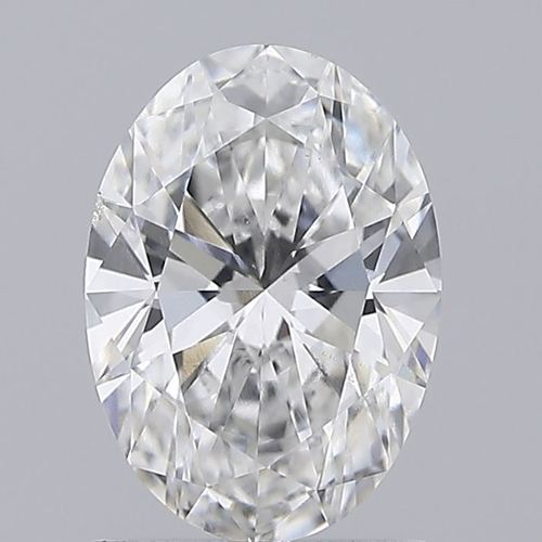 Oval Cut 1.11ct Lab Grown Diamond CVD E VS2 IGI Crtified Stone
