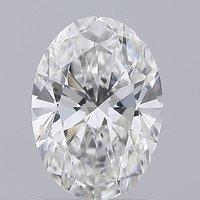 Oval Cut 1.11ct Lab Grown Diamond CVD E VS2 IGI Crtified Stone