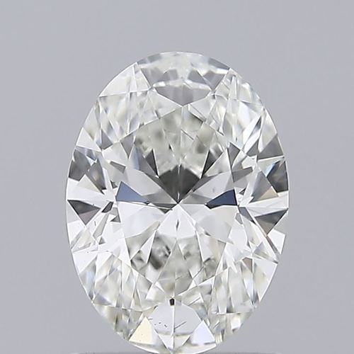Oval Cut 1.02ct Lab Grown Diamond CVD G SI1 IGI Crtified Stone