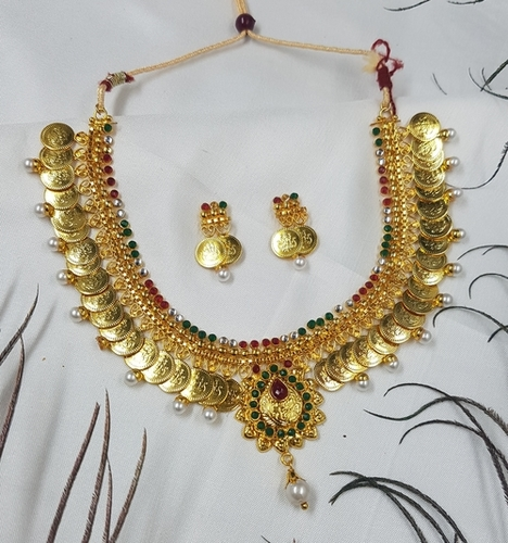Gold Covered Necklace