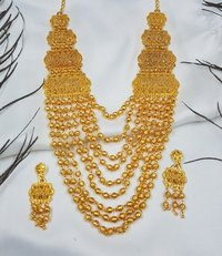 Traditional Gold Necklace Set