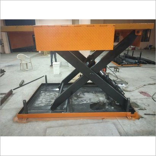 Moving Industrial Hydraulic Scissor Lift Table