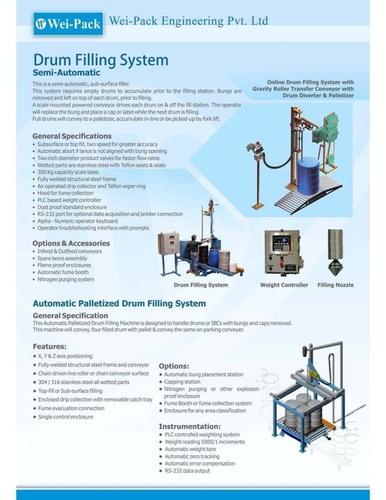 Automatic Palletizer Drum filling System