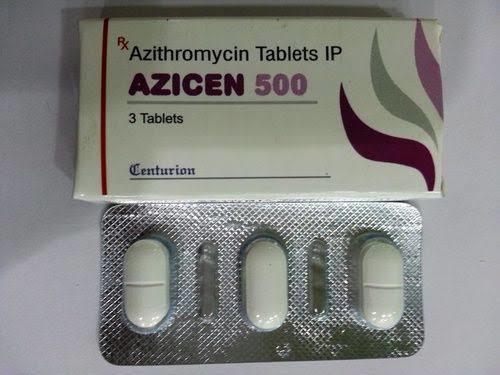 Azithromycin  .