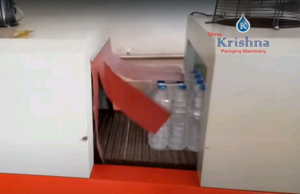 Automatic Shrink Wrapping Machine