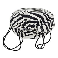 Animal Texture Print Canvas Drawstring Bags