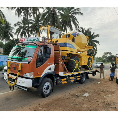 Construction Machine Transporting Service