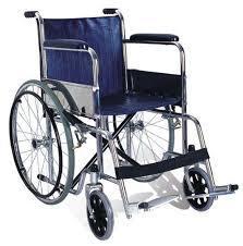 Folding wheelchair aluminum