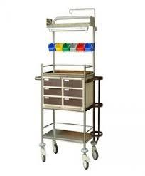 Emergency crash cart small MS