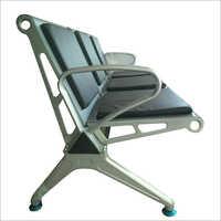 Steel Waiting Chair With Cushion