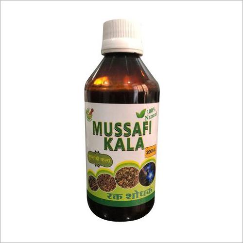 Mussafi Kala Rakt Shodhak Syrup