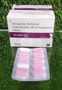 GLIMEPRIDE METFORMIN AND  Glimepiride + Metformin + Pioglitazone