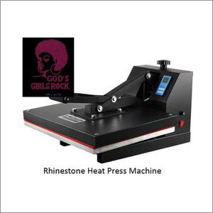 Rhinestone Pasting Heat Press Machine