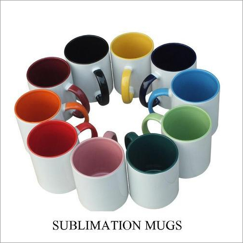 Plain Sublimation Mugs