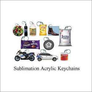 Sublimation Acrylic Keychains