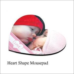 Sublimation Heart Shape Mouse Pads