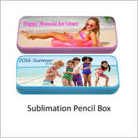 Sublimation Plastic Pencil Box