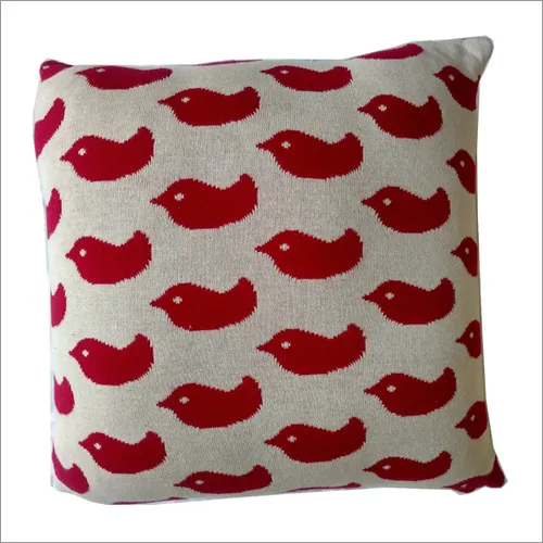 Decorative Knitted Cushion Cover