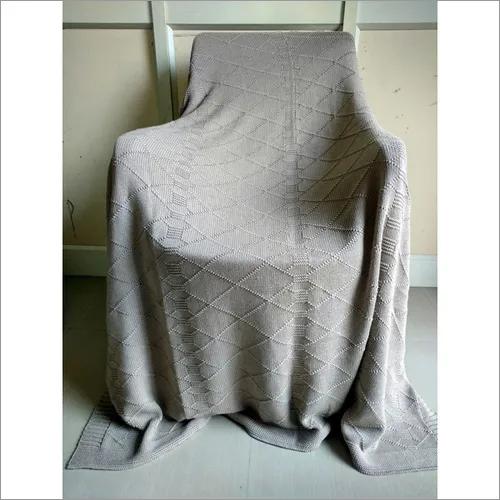 Alpaca Throw Blanket